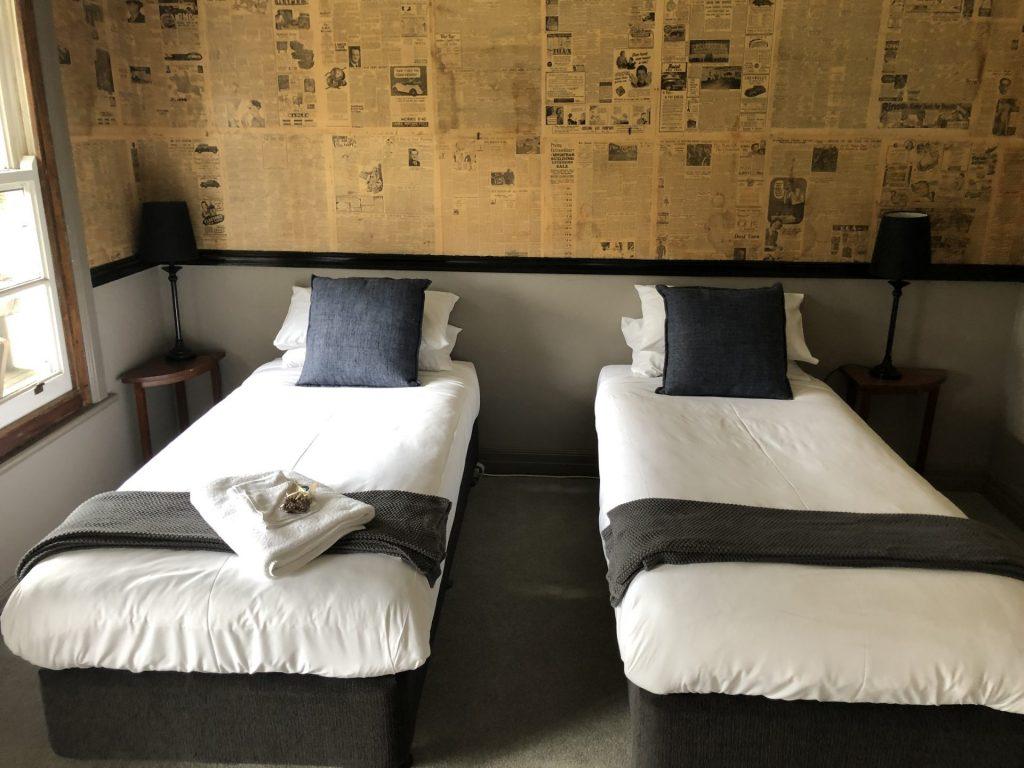 Twin Single Accommodation, Forrest, Otways