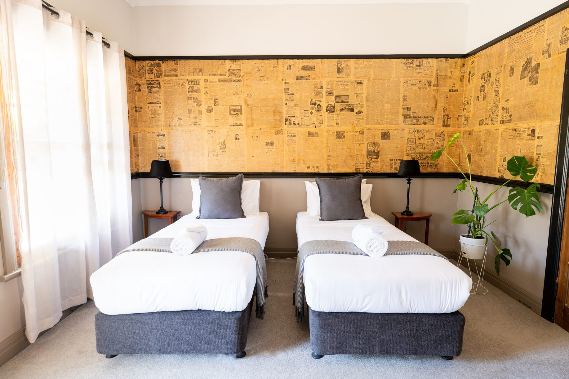 Twin Singles Forrest Accommodation - Forrest Suite