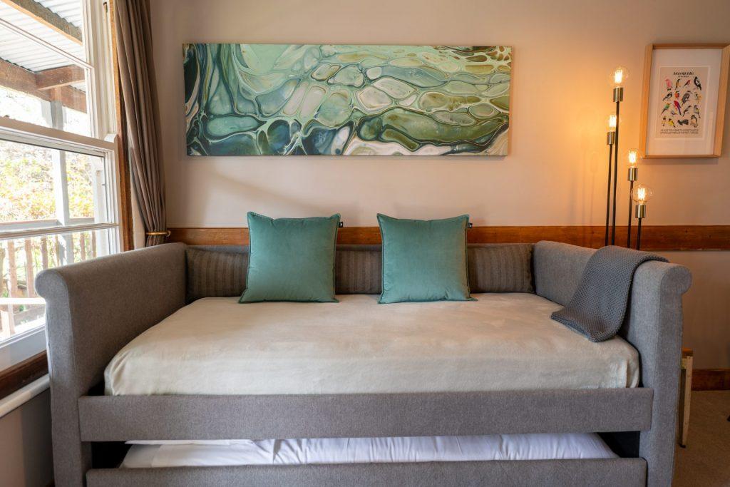 Otways sofa/trundle sleeps two singles