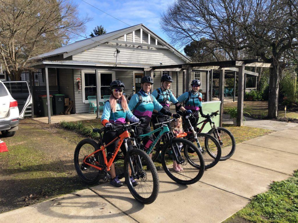 Forrest MTB bike friendly accommodation